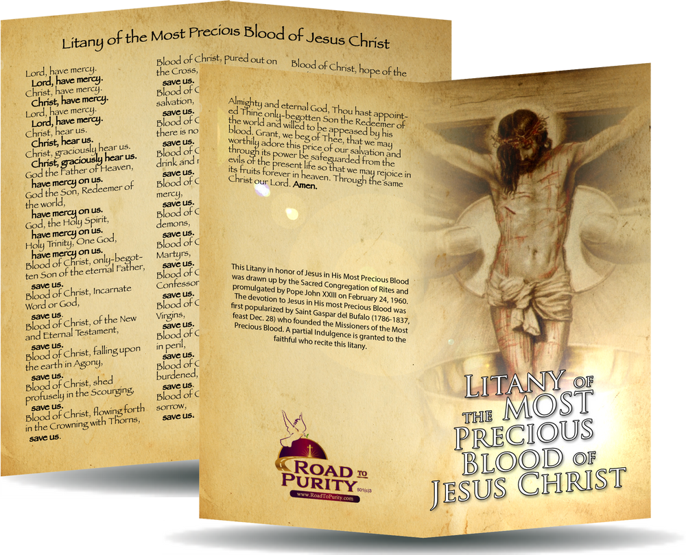 Litany of the Most Precious Blood of Jesus Christ