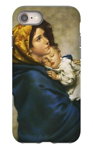Madonna of the Streets Heavy Duty iPhone Case