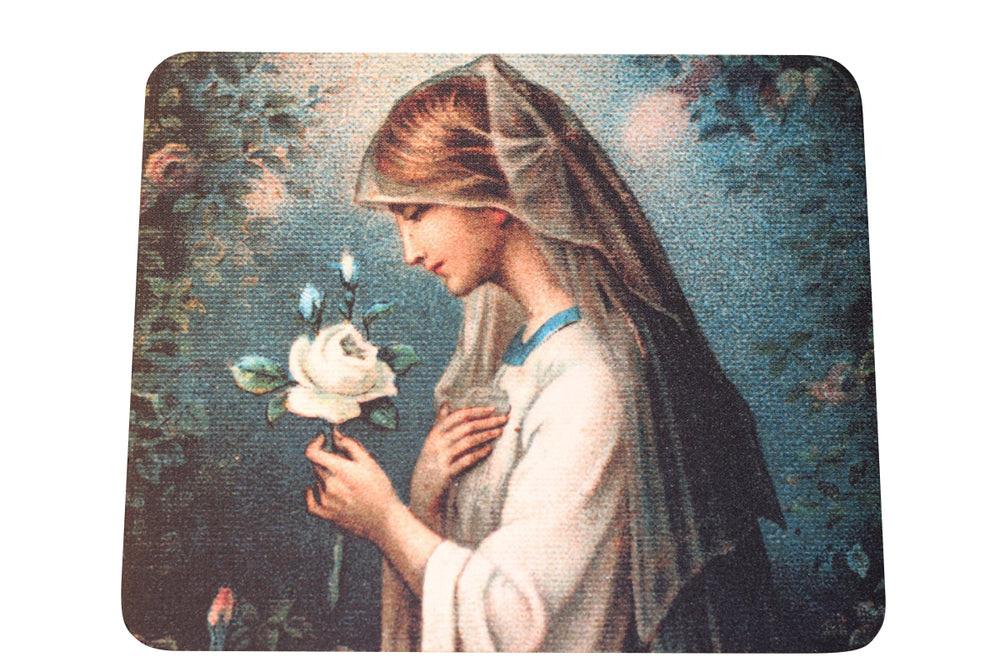 Our Lady of the Mystical Rose Mouse Pad