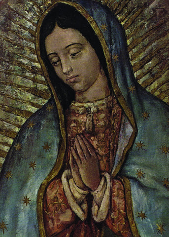 Our Lady of Guadalupe - Face Print 5X7
