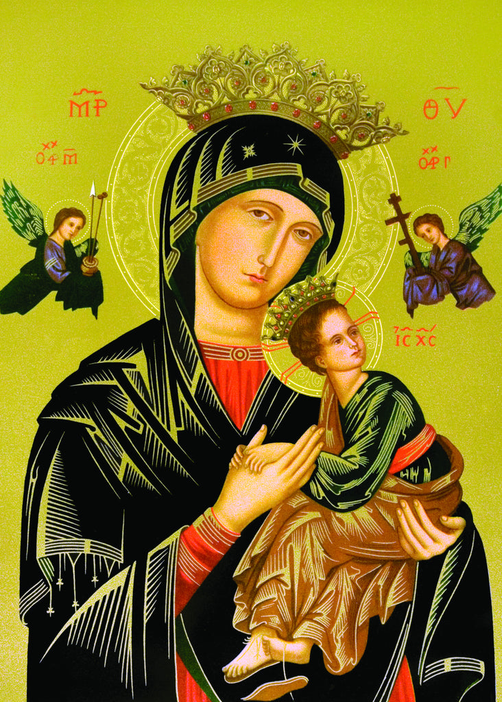 Our Lady of Perpetual Help Print 5X7