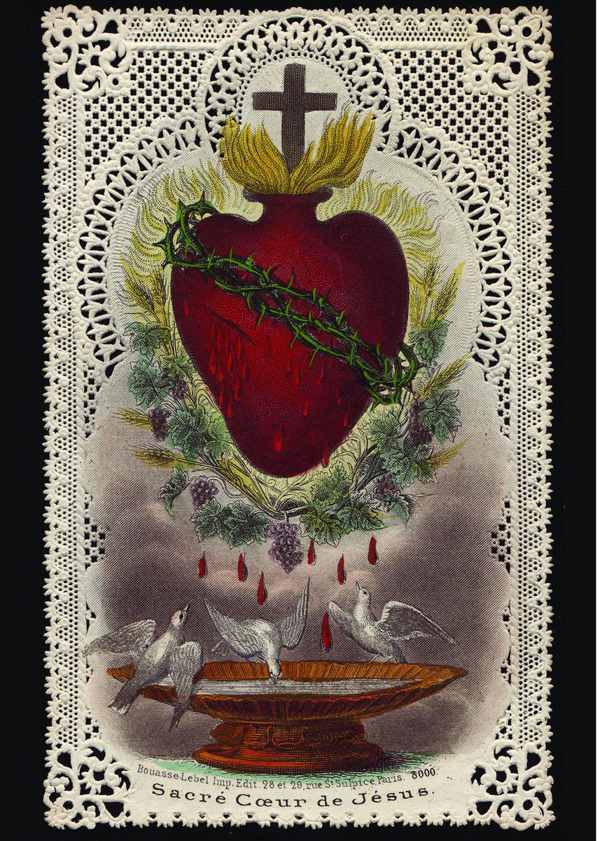 American Express Usa >> Sacred Heart of Jesus Print 5X7 – Full of Grace USA