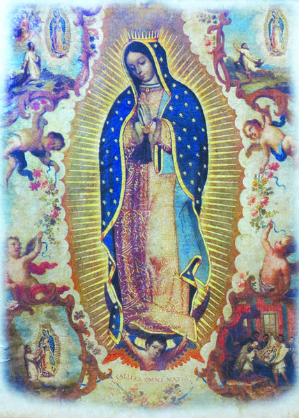 Our Lady of Guadalupe - Blue Print 5X7