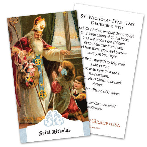St. Nicholas Prayer Cards