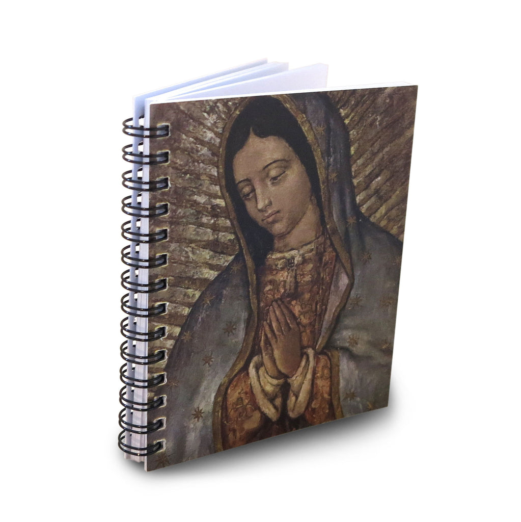 Virgin of Guadalupe/Face Mini Notebook