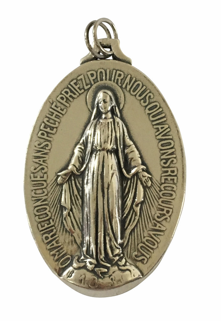 Miraculous Medal Large Full Of Grace Usa