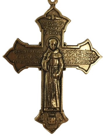 St. Francis of Assisi and St. Anthony of Padua Cross