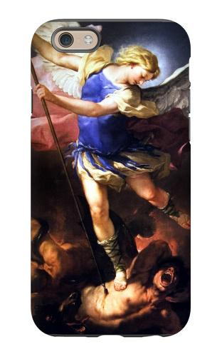 St. Michael the Archangel Heavy Duty iPhone Case