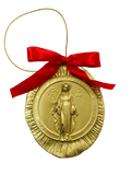 The Miraculous Medal Christmas Ornament #1