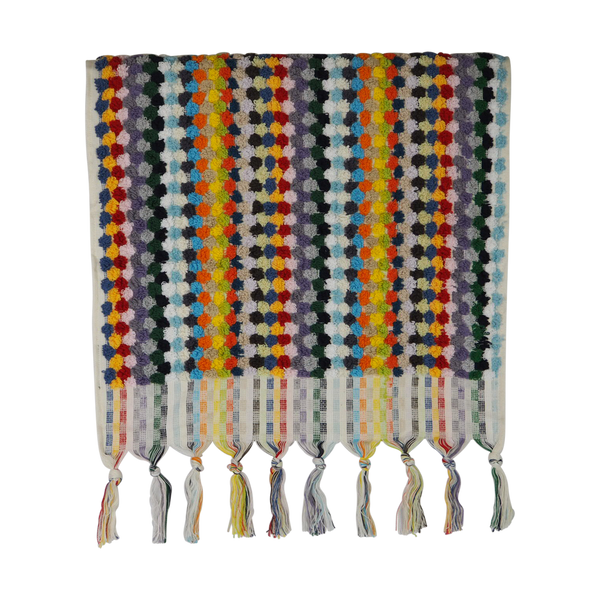 Pompom Hand Towel / Multicolour