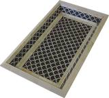 Shanti Bone Inlay Tray / Black