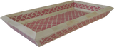 Shanti Bone Inlay Tray / Pink