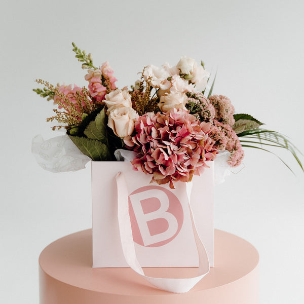 MOTHER'S DAY FLOWER BOUQUET, LUXE PASTEL FLORALS