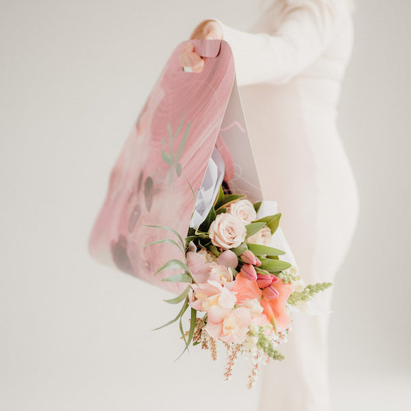 MOTHER'S DAY PASTEL BOUQUET, LARGE CARRIER