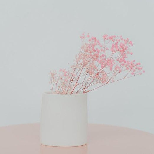 BLUSH X RENEE BOYD SMALL CERAMIC VASE