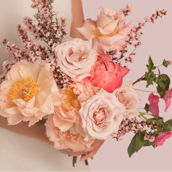 Bridal Bouquet - Wedding flowers -  Roses - Peonies - Auckland delivery