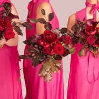 Bridesmaids Bouquet-wedding-bouquets-roses-peonies-auckland