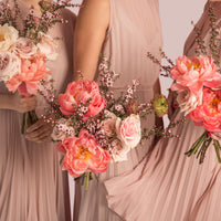 Bridesmaids Bouquet - wedding-flowers-roses-peonies-auckland