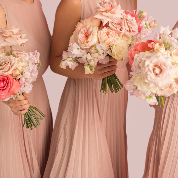 Bridesmaids Bouquet - Pastel (Modern + Tailored)