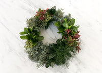 XMAS WREATH WORKSHOP SUNDAY 22ND NOVEMBER 3:30-5PM