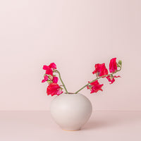 Blush x Rachel Carter Ceramics - Large Round Vase