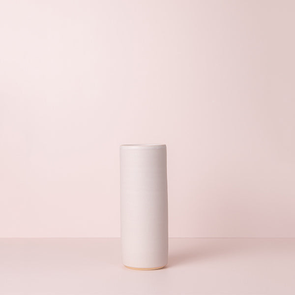 BLUSH X RACHEL CARTER CERAMICS | SMALL CYLINDER VASE