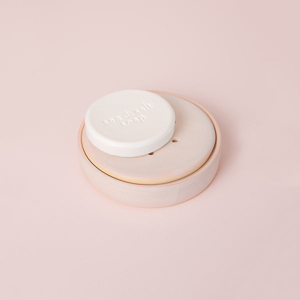 Blush x Rachel Carter Ceramics - Soap Dish