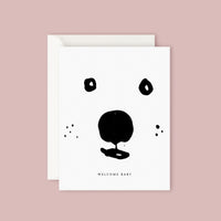 Father Rabbit Card - Welcome Baby Bear