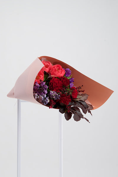 Bouquet-blush-auckland-delivery-roses-Hydrangeas-flowers-gift