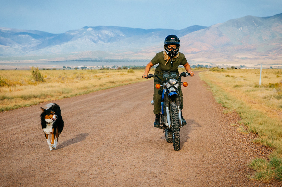 Tale of Two Funs: A Dirtbike, A Dog and a Sense of Adventure