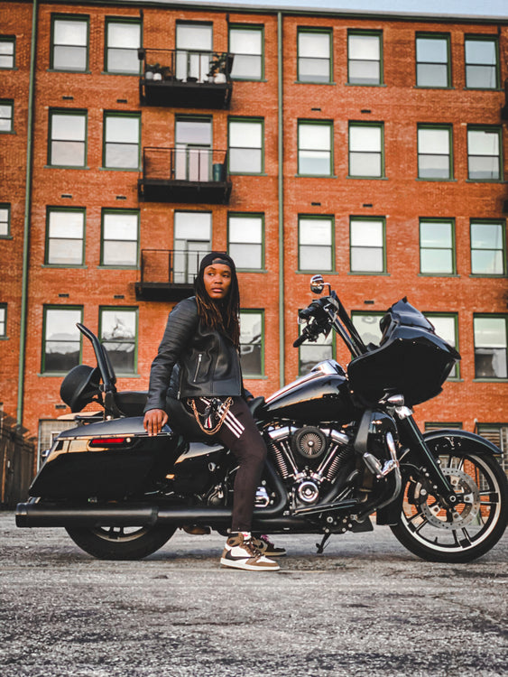 Erica aka @Queen.sit & her Journey to Two Wheels