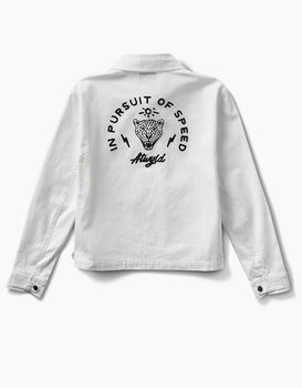Pursuit Garage Jacket Vintage White