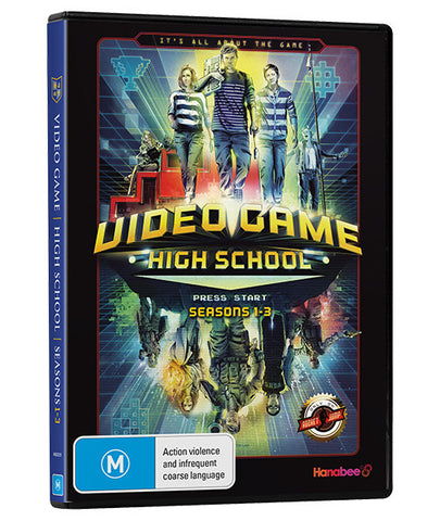 VIDEO GAME HIGH SCHOOL: SEASON 1-3