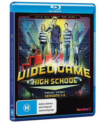 VIDEO GAME HIGH SCHOOL: SEASON 1-3 (BLU-RAY)