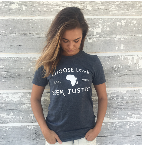 Choose Love Seek Justice Tee
