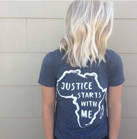 Justice Starts With Me Tee