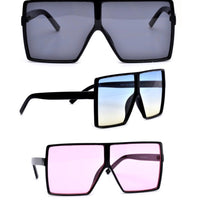 Over sized square shape sunglasses