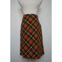 Vintage wool skirt small