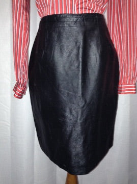 Bagatelle leather skirt