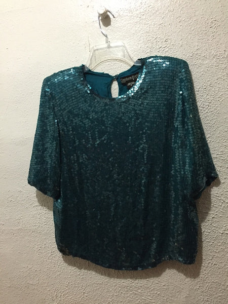 Carolyn Barton sequin M