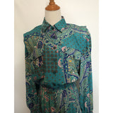 Leslie Fay Shirt dress vintage dress