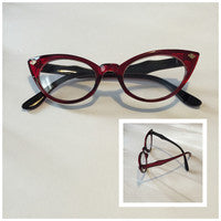 Retro style colored frame glasses