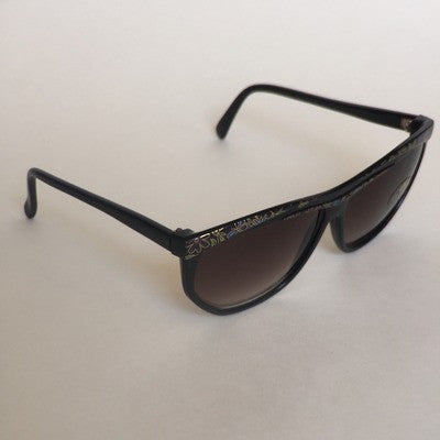 Vintage inspired rectangle sunglasses