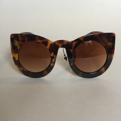 Big round cat eye sunglasses
