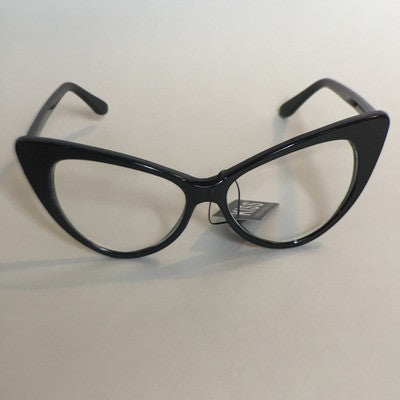 Slim cat framed glasses