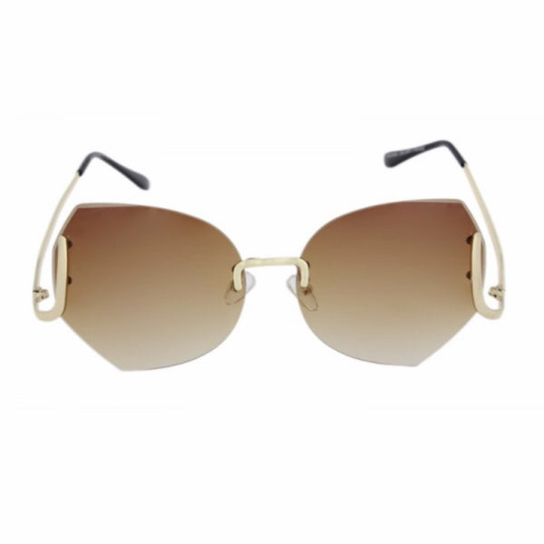 granny rimless sunglasses