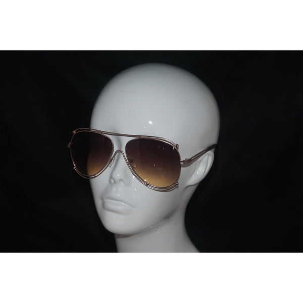 Outlined aviator sunglasses