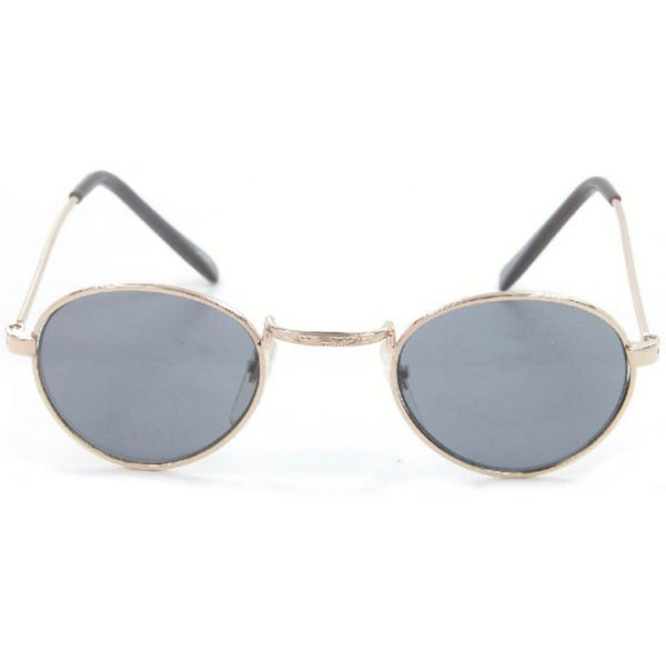 Retro baby metal sunglasses