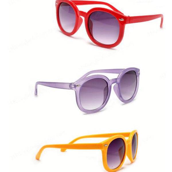 kids round square sunglasses