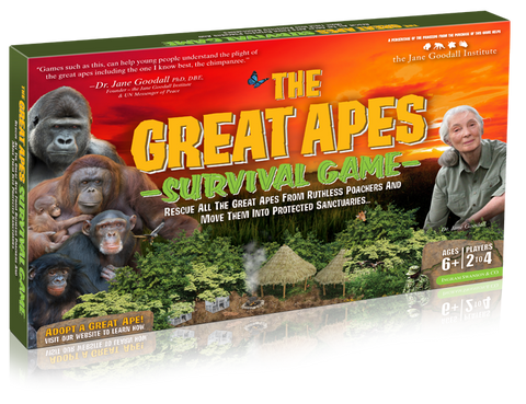 The Great Apes Survival Game